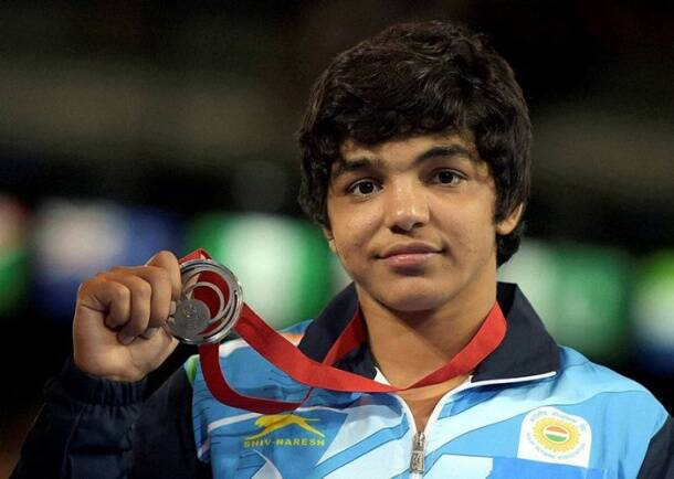 After golden day, wrestlers settle for silver at Commonwealth Games