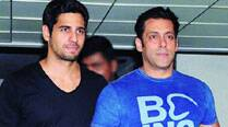 Sidharth Malhotra  with Salman Khan