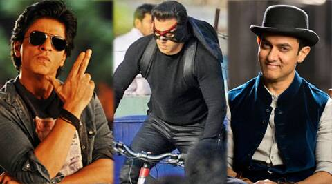 Salman Khan's 'Kick' has broken SRK's 'Chennai Express' Record and is cating up with Aamir's 'Dhoom 3'.