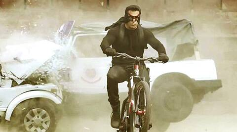 Salman Khan had used the same bicycle to tour around Delhi while shooting an extensive part of 'Kick'.