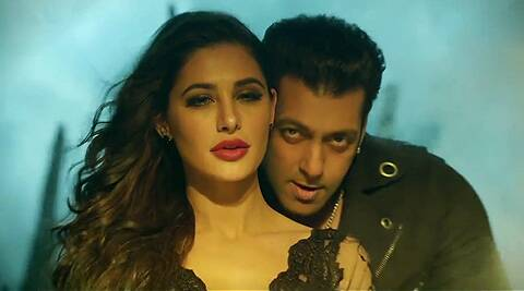 Much of Salman Khan's look in the song seems to inspired by his 'Bigg Boss 7' gig.