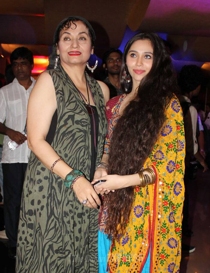 Back again! Sasheh Agha's outing with mom Salma Agha
