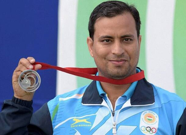 Golden hat-trick for grapplers, shooters continue shooting medals at Commonwealth Games
