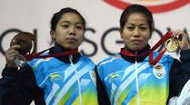 Ladies first: Sanjita and Mirabai open India's account at Glasgow