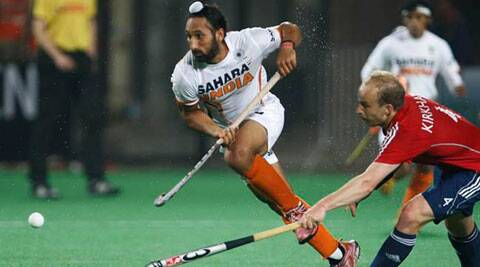 The Sardar Singh led Hockey may not make it to the Glasgow CWG games. (Source: AP)