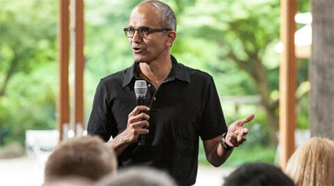 Microsoft CEO Satya Nadella had outlined plans for a 'leaner' business in a public memo to employees last week. (Image Courtesy: Microsoft)