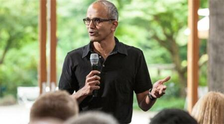 Satya Nadella visits India for the first time after being CEO