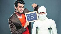 Manish Paul in Science of Stupid
