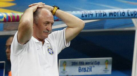 Scolari said Saturday that it would be up to the Brazil confederation to decide whether he would continue. (Source: Reuters)