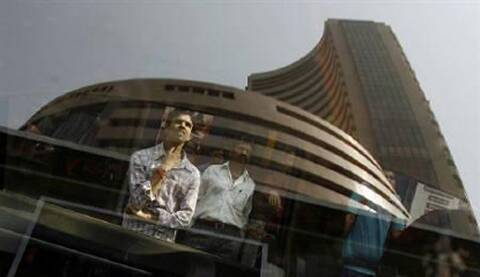 BSE Sensex slipped below the 27,000-mark by falling 185.55 points in early trade. (Reuters)