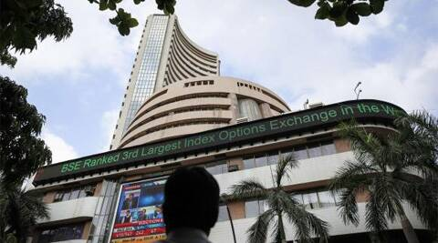 BSE Sensex soared 125 pts to end at new record close of 26,271.85. Reuters