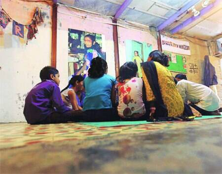 it's not the stork: An adolescent sexuality programme in Dharavi, Mumbai