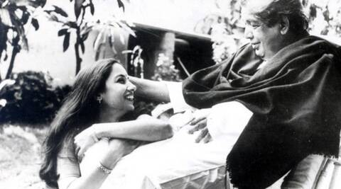 It also shares many rare pictures of Shabana and her father.