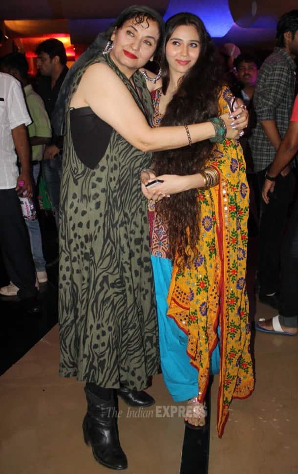 Back again! Sasheh Agha's outing with mom Salma Agha