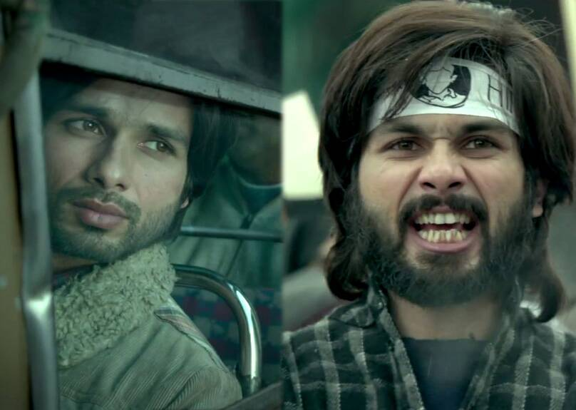 Shahid Kapoor sheds his chocolate boy image to take up a very intense emotional role.