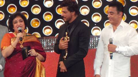 Shah Rukh Khan was honoured with an Entertainer of Indian Cinema award.