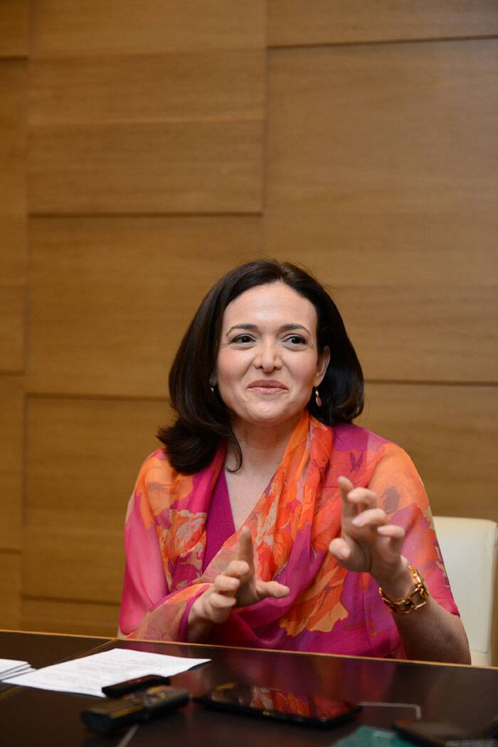 FB COO Sheryl Sandberg: We are the No 1 thing people do on phones, no need for a smartphone