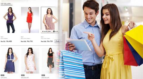 New shopping trends: Online shopping and flee markets