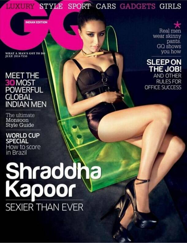 Shraddha Kapoor oozes sex appeal as she appears on the cover of a fashion magazine