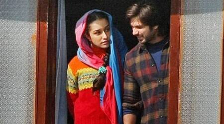 Shraddha Kapoor feels lucky to be a part of filmmaker Vishal Bhardwaj's upcoming project 'Haider'.
