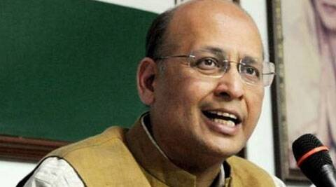 Congress spokesperson Abhishek Singhvi (Source: PTI)