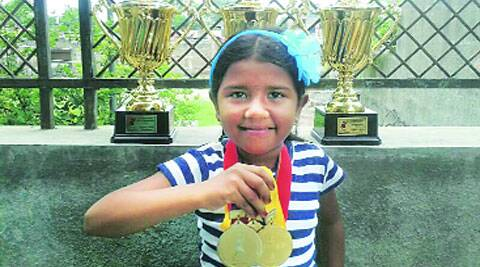 Sanskruti won gold in the under-8 category at the Asian Youth Chess Championship in the central Asian city.