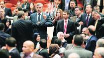 Sunnis, Kurds abandon parliament after Maliki replacement notnamed