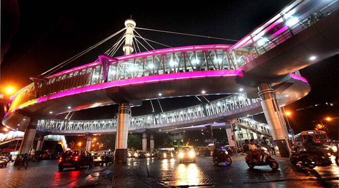 Mumbai's iconic Grant Road skywalk open for public