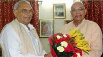 Solanki sworn in as new Haryana Guv, evades queries on HSGPC