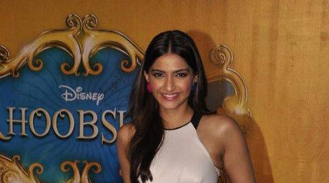 "Sonam Kapoor said the film's producer and director have ""exposed me completely in this film""."