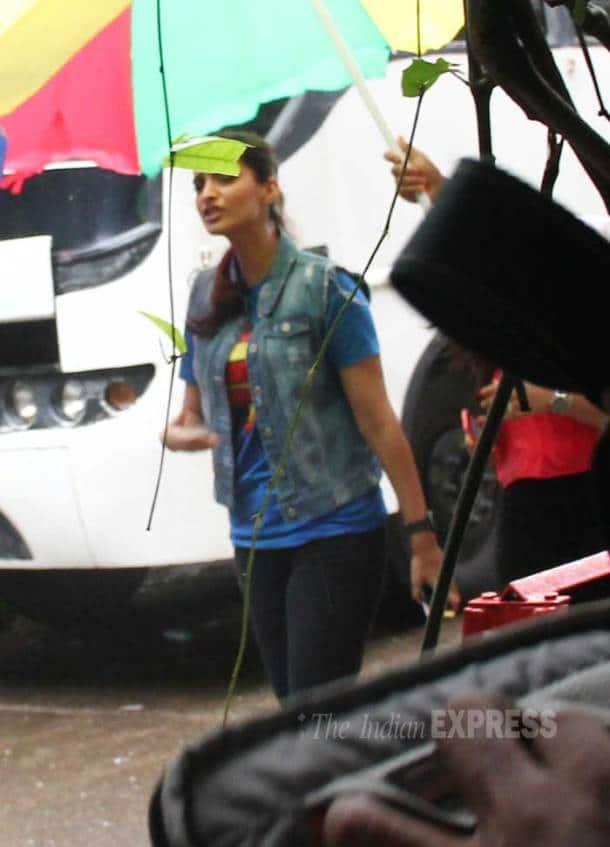 Sonam Kapoor, Malaika Arora Khan shoot for 'Dolly Ki Doli'