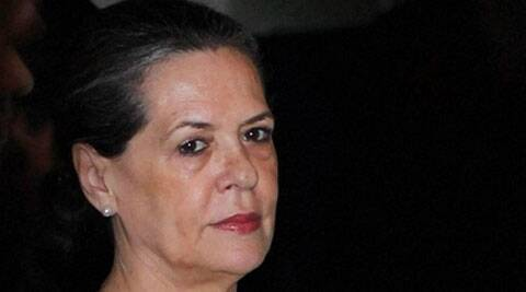 We are the single largest party and we have a pre-poll alliance, said Sonia Gandhi. (Source: PTI photo)