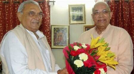 Solanki has become the 16th Governor of the state since its formation after trifurcation of Punjab in 1966. (Source: PTI)