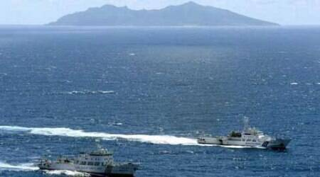 China claims virtually the whole South China Sea.  (Source: Reuters)