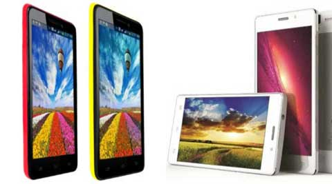 Spice launches Stellar series smartphones 520 and 526