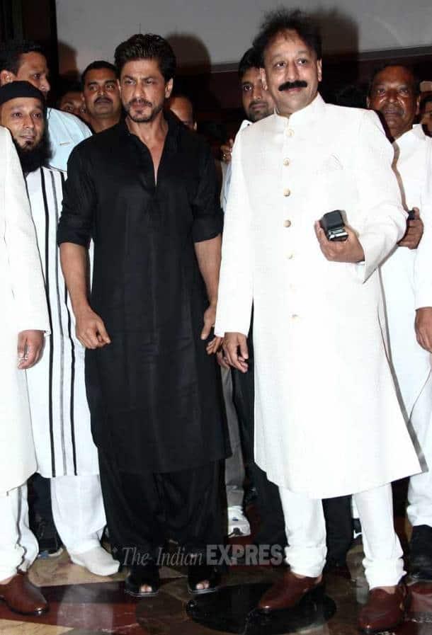 In Pics: Shah Rukh, Salman Khan hug again at iftaar party