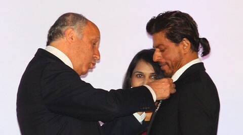 Shah Rukh is second Bollywood personality after megastar Amitabh Bachchan to be bestowed this award.