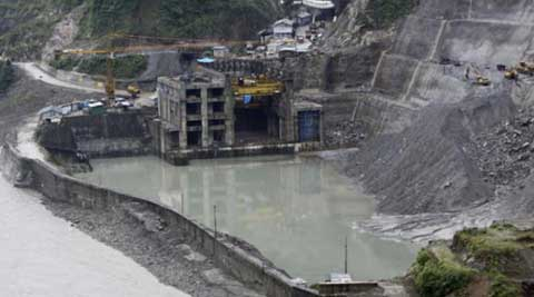 Construction work of the project is suspended since December 2011 following protest by various groups. (Source: AP)