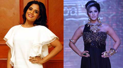 """My team and I felt that I shouldn't be a part of a sex comedy at this point in time. I have all the respect for Sunny Leone and the fact that this is the third project I have had to decline with Sunny in the star cast is just a mere co-incidence,"" Richa Chadda told IANS."
