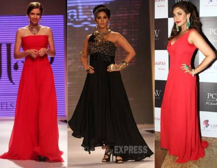IIJW 2014: Sunny Leone weaves black magic, Lisa Ray, Kalki Koechlin are red hot