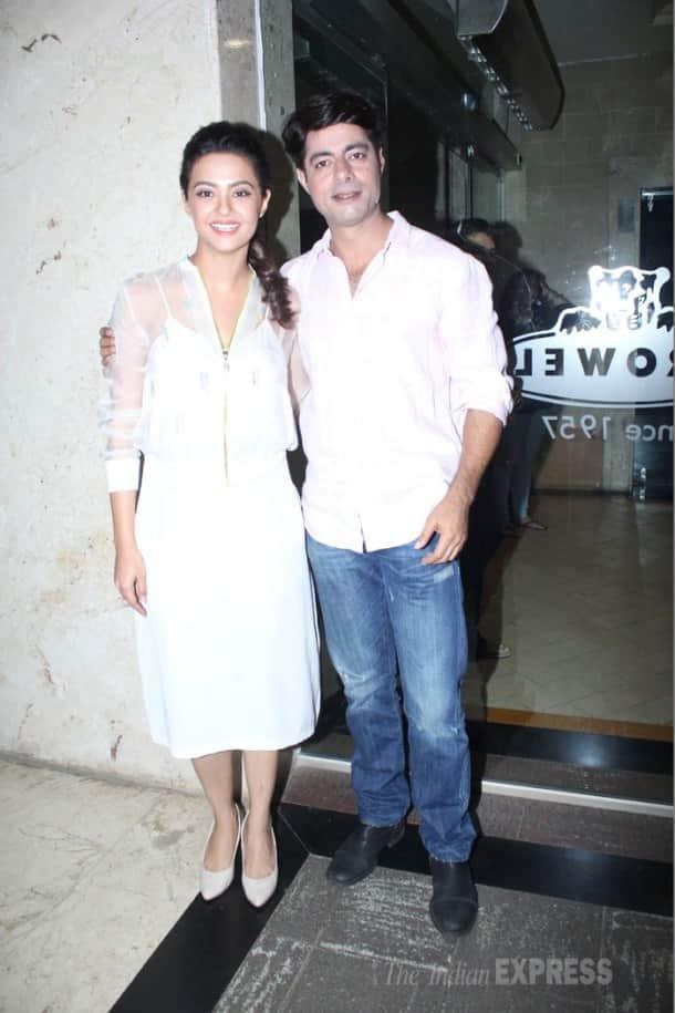 Jay Bhanushali, Surveen Chawla promote 'Hate Story 2'