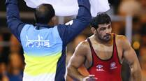 Golden day for India wrestlers, Sushil, Amit, Vinesh finish top of the podium