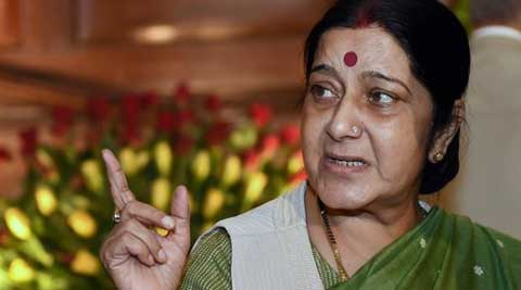 External Affairs Minister Sushma Swaraj (Source: PTI photo)