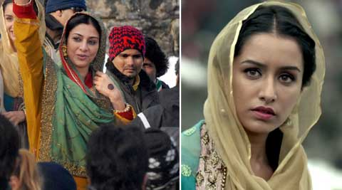 """Tabu and Shraddha will be singing an old Kashmiri folk song. It is titled 'Roshe valle',"" sources close to the development told PTI."