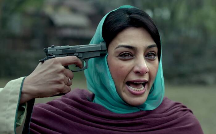 "Tabu, who is bang on with her expressions in the snippets, says, ""You just have to find your relationship with your character."""