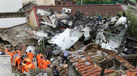 The crash of Flight GE222 was Taiwan's first fatal air accident in 12 years. (Source: AP)