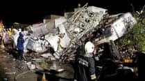 TransAsia Airways plane crashes on emergency landing in Taiwan, 47 feareddead
