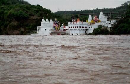 Today in pics: Flash floods on the outskirts of Jammu