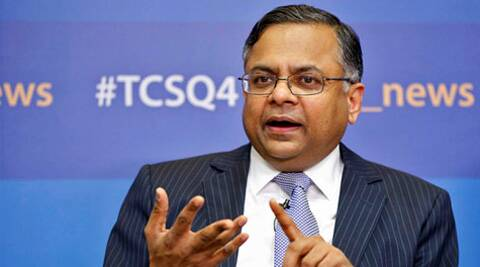TCS CEO N Chandrasekaran said robust volumes and healthy growth across all industries and key markets helped TCS start the new fiscal on a strong note. (Reuters)