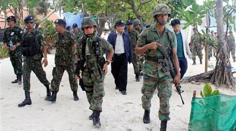 A recent poll showed that several people were happy with the way the military was governing the country. (Source: AP)
